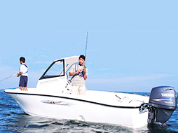 YAMAHA BAYFISHER 20 レンタルボート