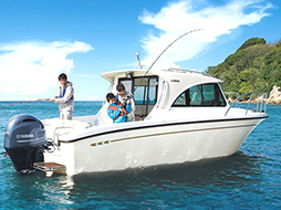 YAMAHA FR-23 レンタルボート